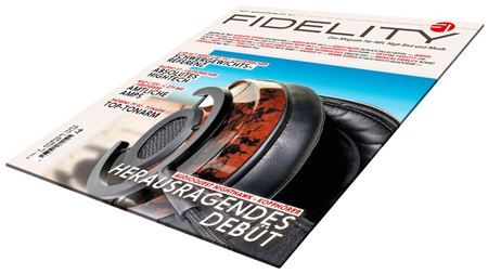 Fidelity Magazin Cover